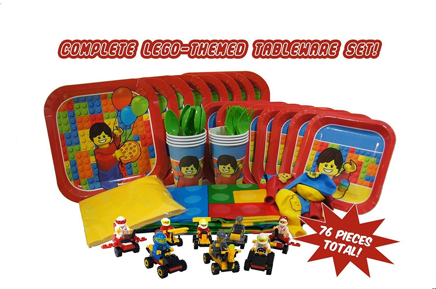 Party Kit for Brick and LegoThemed Parties