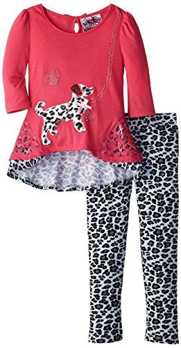 cool Beautees Little Girls' Leopard Print Legging Set With Dog, Hot Pink, 5   buy now     $20.57 [ad_1] Lace detail on top [ad_2]... http://showbizlikes.com/beautees-little-girls-leopard-print-legging-set-with-dog-hot-pink-5/