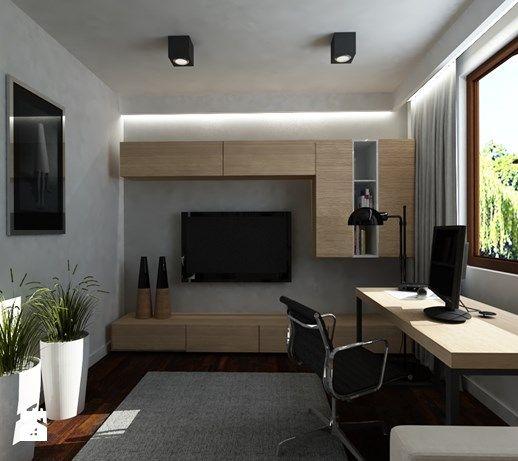 Gabinet styl Nowoczesny - zdjęcie od Projektowanie Wnętrz Ekspresja