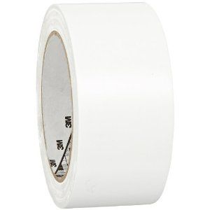 3m General Purpose Vinyl Tape 764 White 2 In X 36 Yd 5 0 Mil Pack Of 1 Vinyl Electrical Tape Color Coding