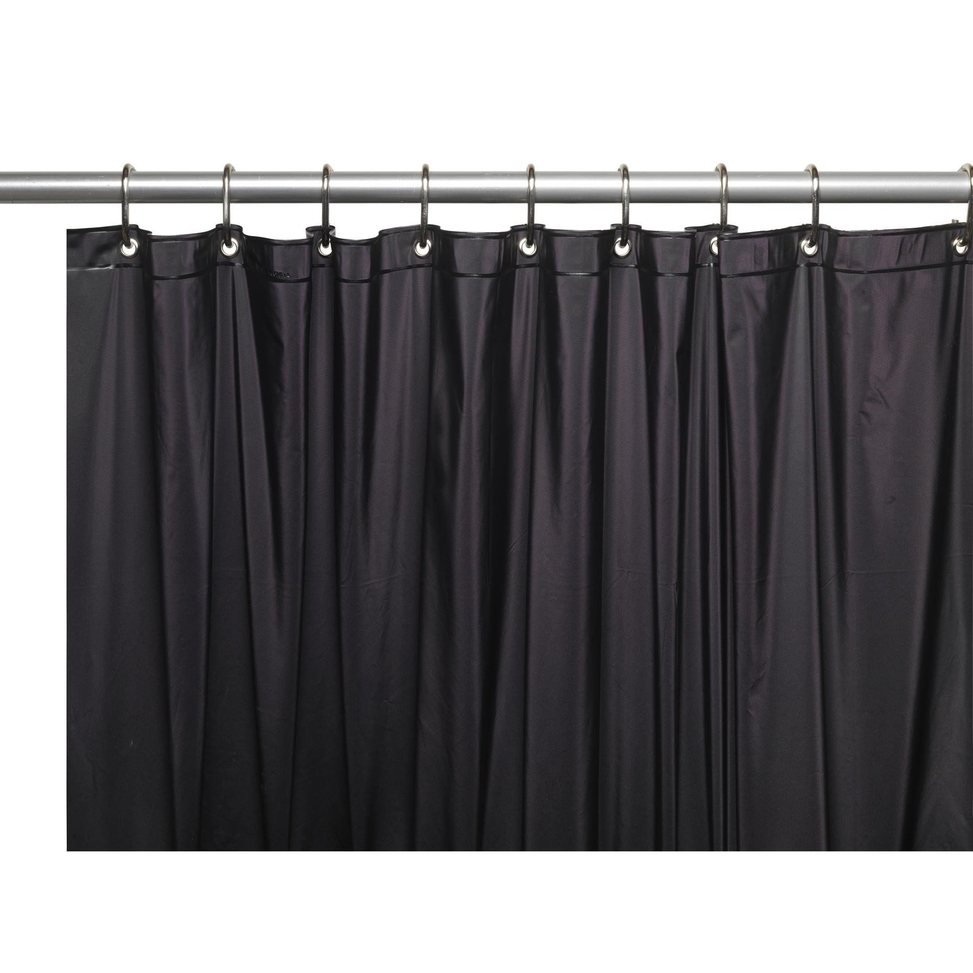 mdesign curtain waterproof shop for heavy b peva liners amazon shower resistant mold bathroom com dvl duty mildew liner