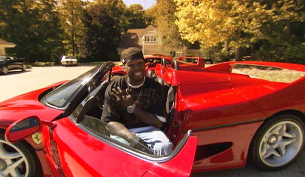50 Cent And One Of His Repossessed Cars Internationalmensday Celebrity Cars Car Cars And Coffee