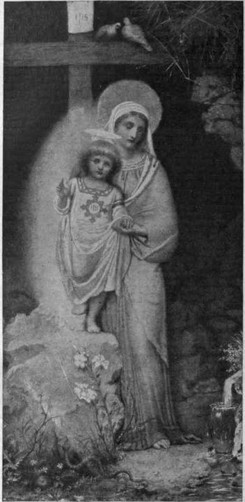 Mary and the Child Jesus.