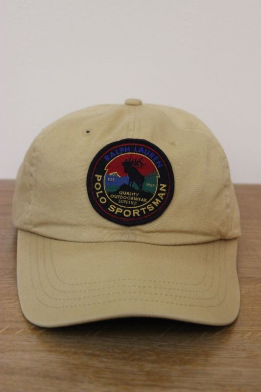 f8ddadee3cc Vintage 90s Polo Sport Ralph Lauren Sportsman Wildlife Cookie Patch Hat  snow 92