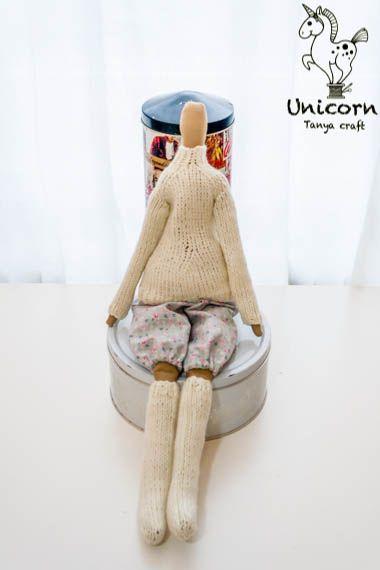 Unicorn: Hyttejenter / Кукла в свитере и чулках. Ч.2