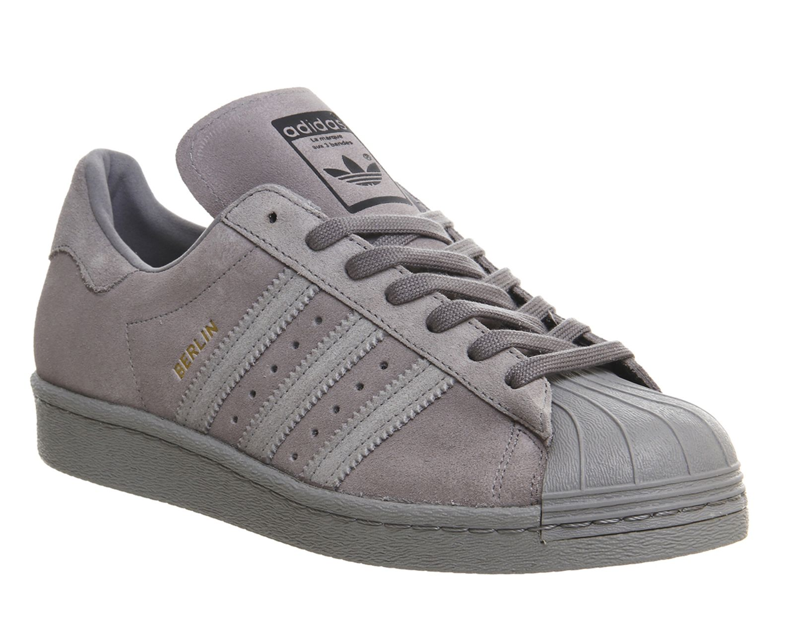 grey adidas superstar