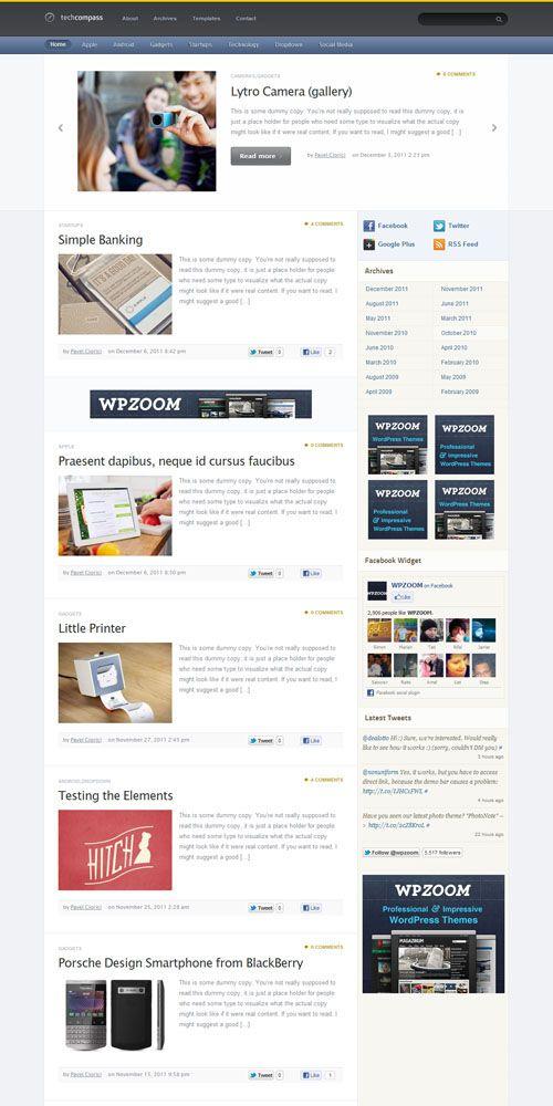 cadabrapress premium wordpress theme by wpzoom   Products I Love ...