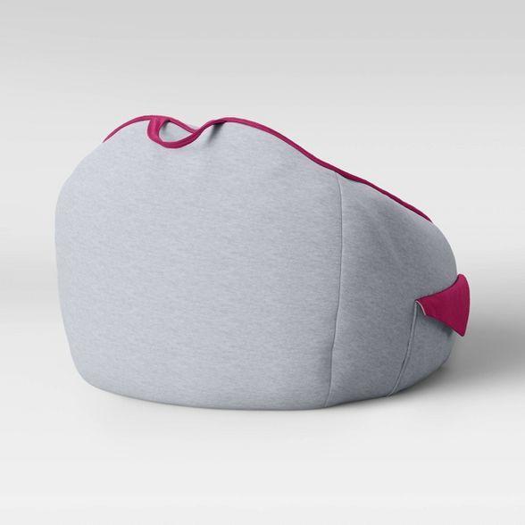 Jersey Bean Bag Chair with Pockets Light Gray - Pillowfort