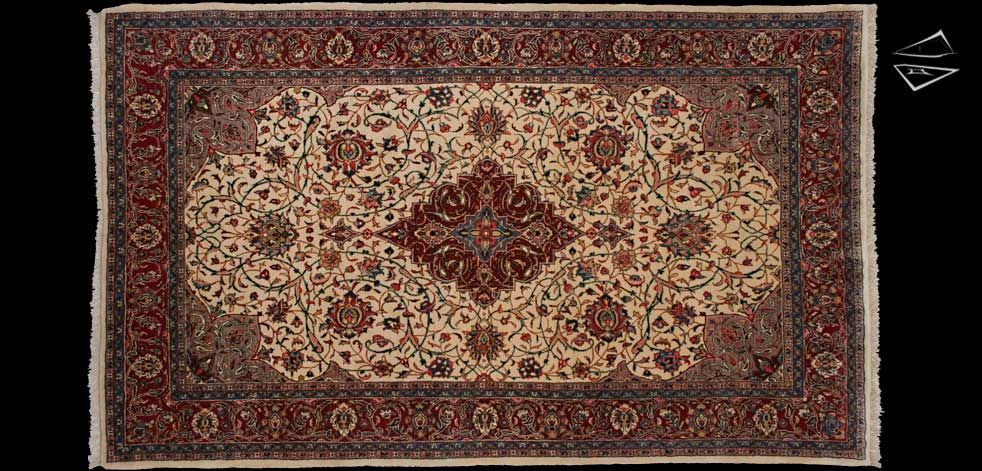 6 10 Persian Sarouk Rug Rugs Rugs On Carpet Large Rugs