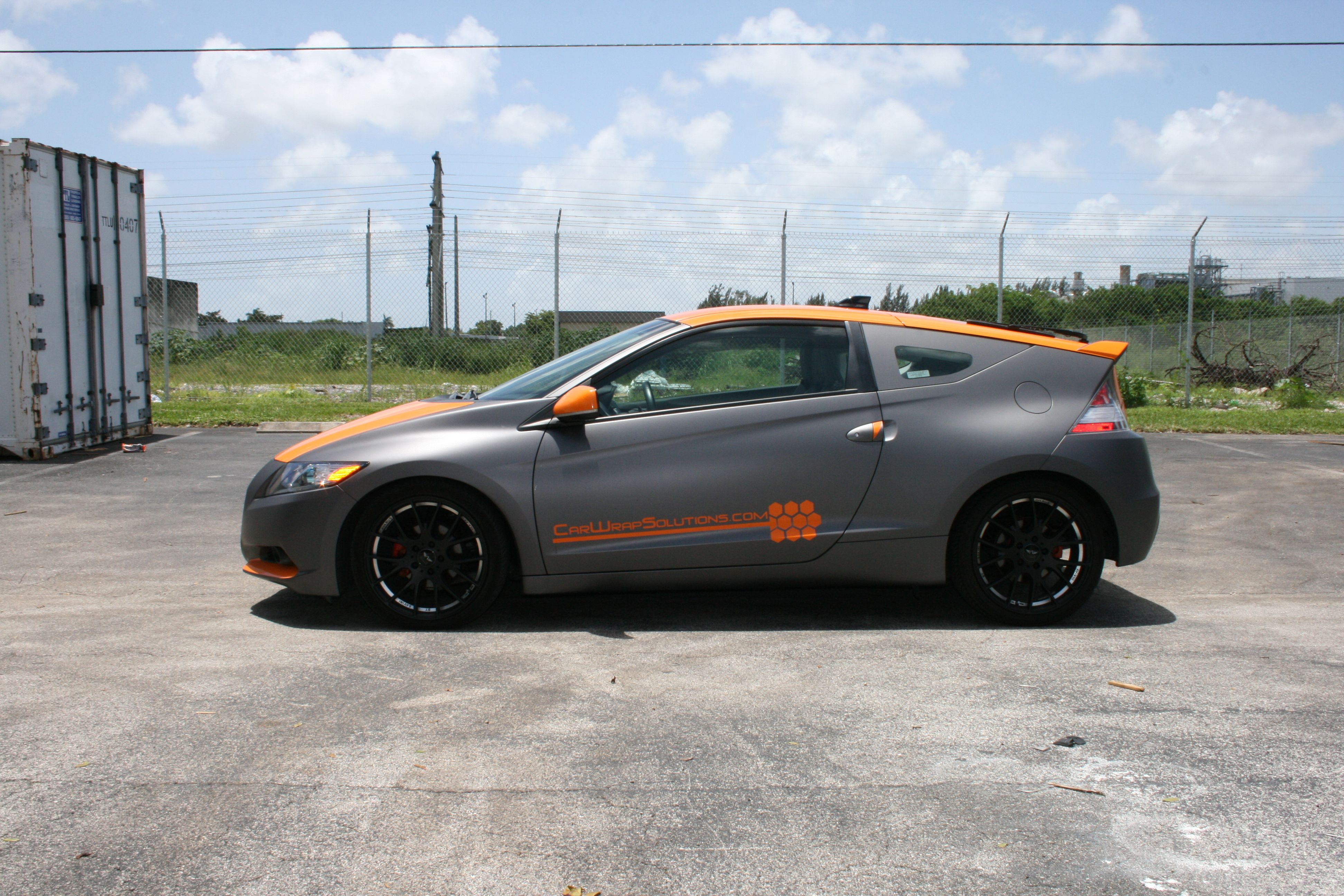 Custom Vinyl Wraps Matte grey car | car wrap | Pinterest | Grey ...
