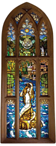 Stained Glass Mermaid Wall Decal - Harry Potter and the Goblet of Fire™ | Harry Potter & Hogwarts: Prints Pictures & Posters| Collectibles. This Website Has LOADS Of Life Size Wall Decals!
