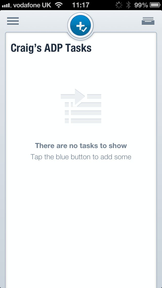 No Tasks In Asana For Ios Empty States Empty State Task