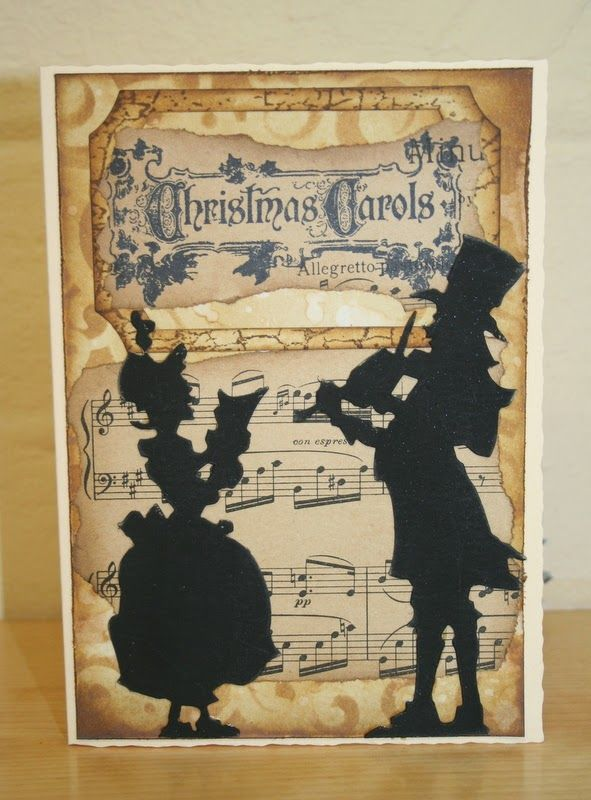 tim holtz victorian carolers google search christmas cards to make christmas gift tags