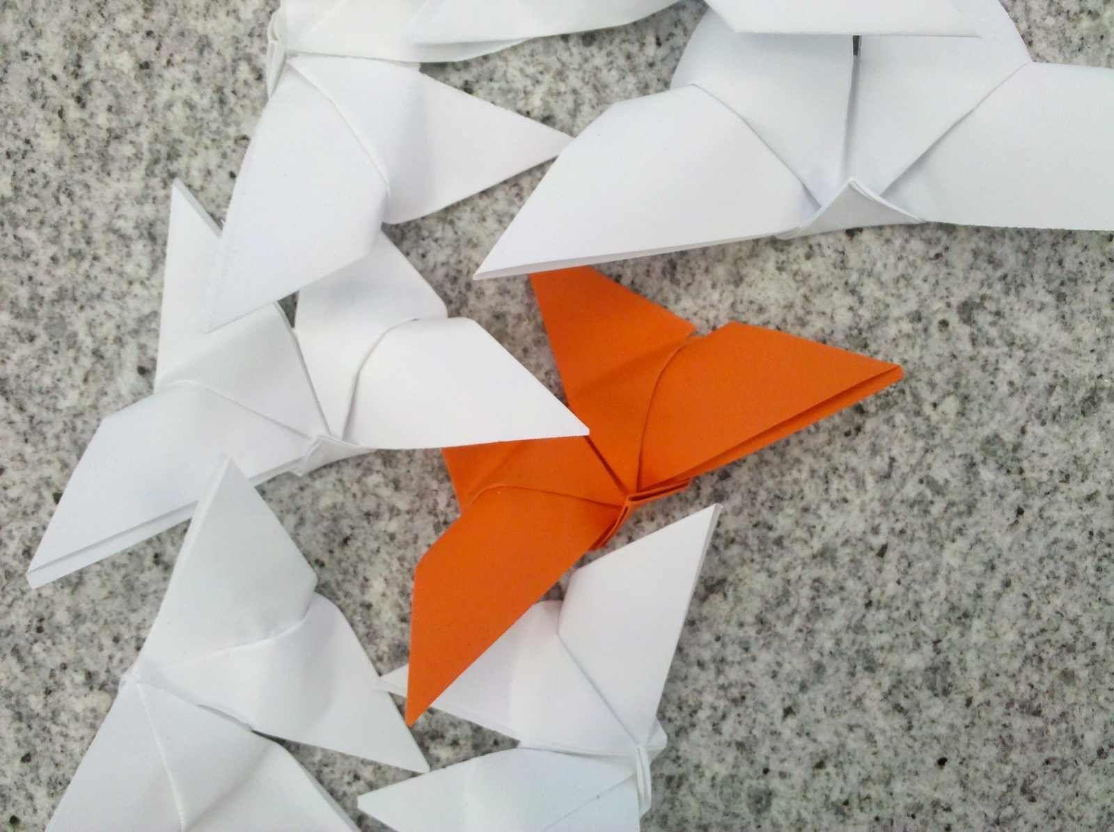 Fly Origami Street Art Graas Lateral Do Museu De Arte Asitica