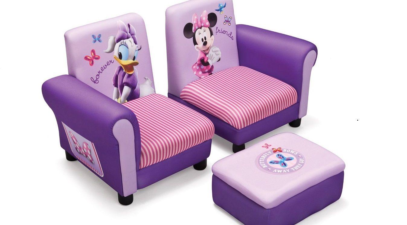 Sill n minnie de 3 piezas 3 a os tc85678mn indalchess for Habitaciones infantiles nina 3 anos