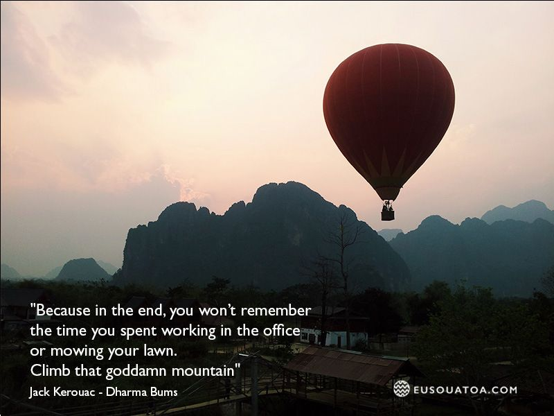 Jack Kerouac - Dharma Bums #jackkerouac #travel
