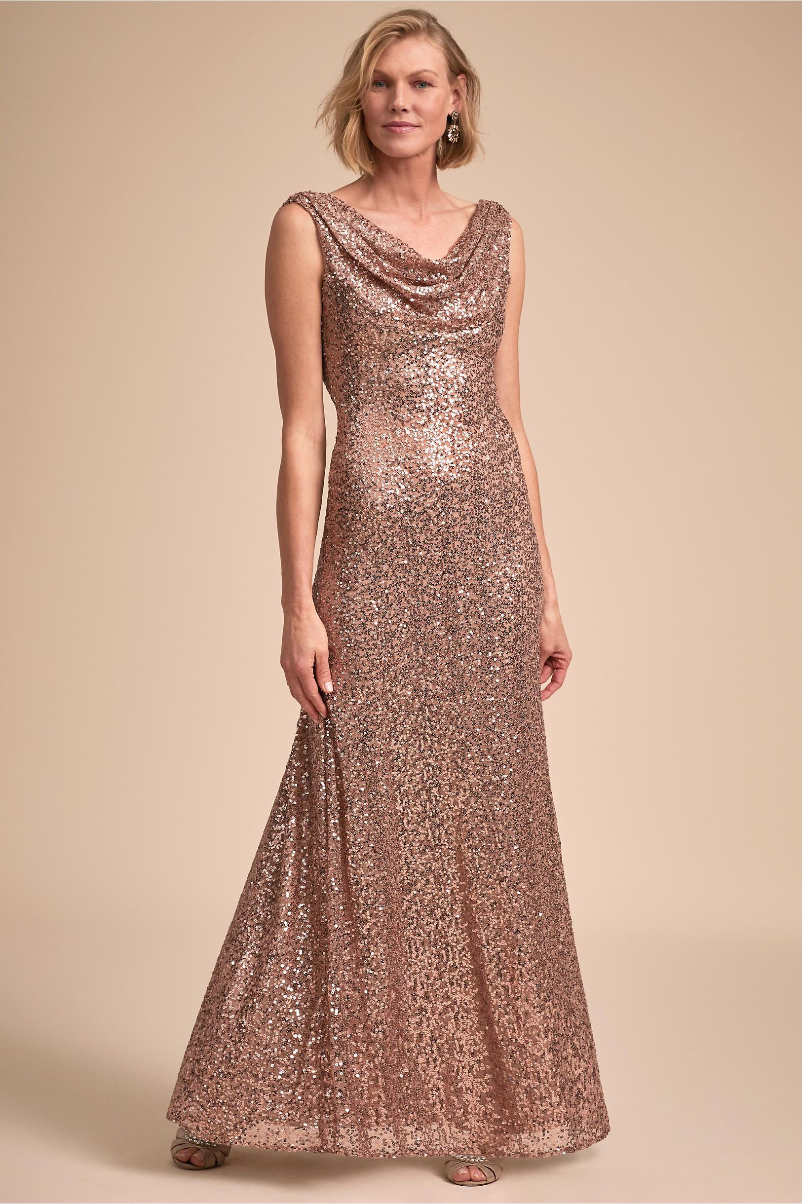 314c7008df7 Francia Dress Rose Gold in Occasion Dresses