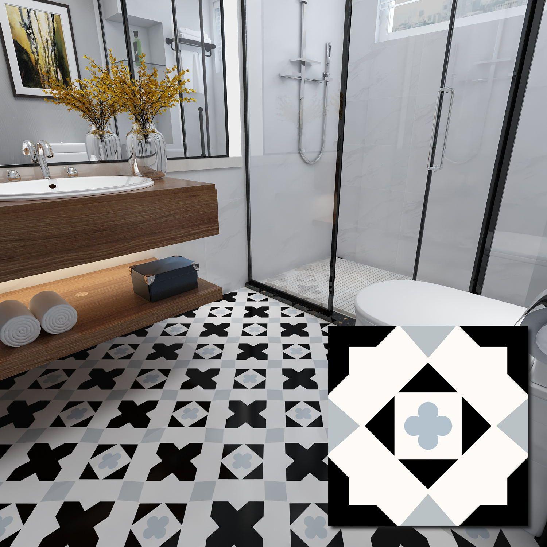 White 300 X 300mm Glazed Ceramic Wall Tile In 2020 Decorative Floor Tile Patterned Floor Tiles Ceramic Floor Tiles