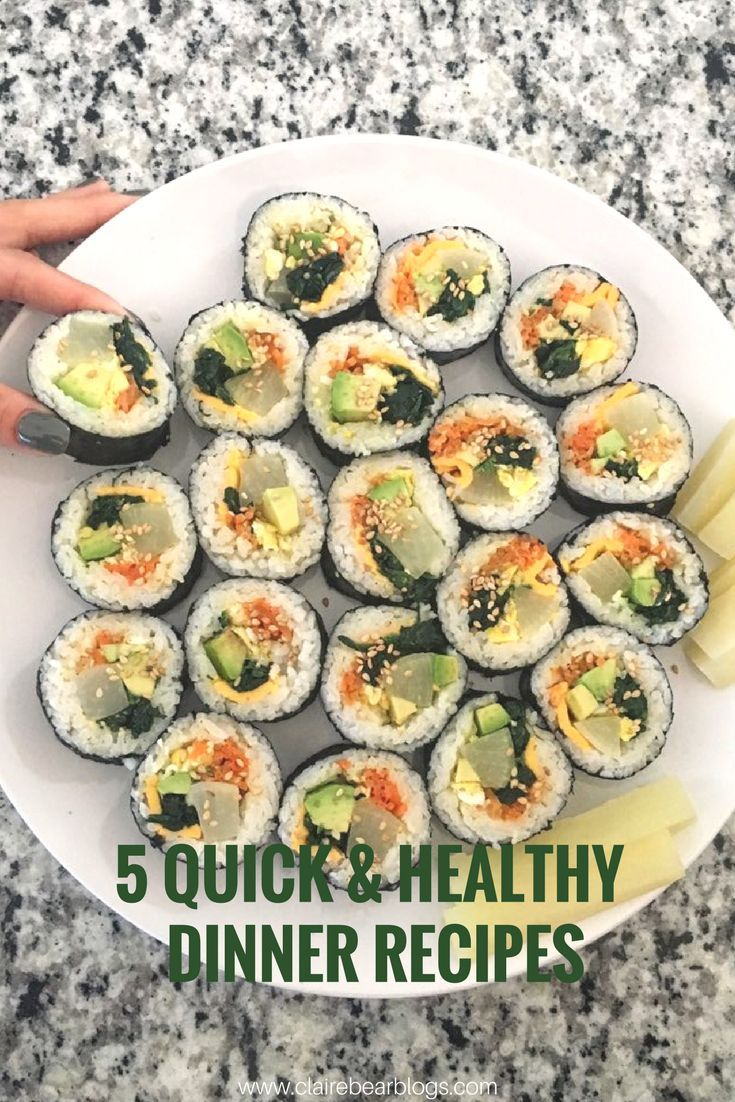Looking To Make Healthy Dinner Tonight Check Out These 5 Quick Easy And Delicious Homemade Recipes