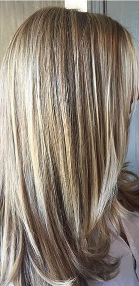 Natural Beige Blonde Highlights Hair In 2019 Hair