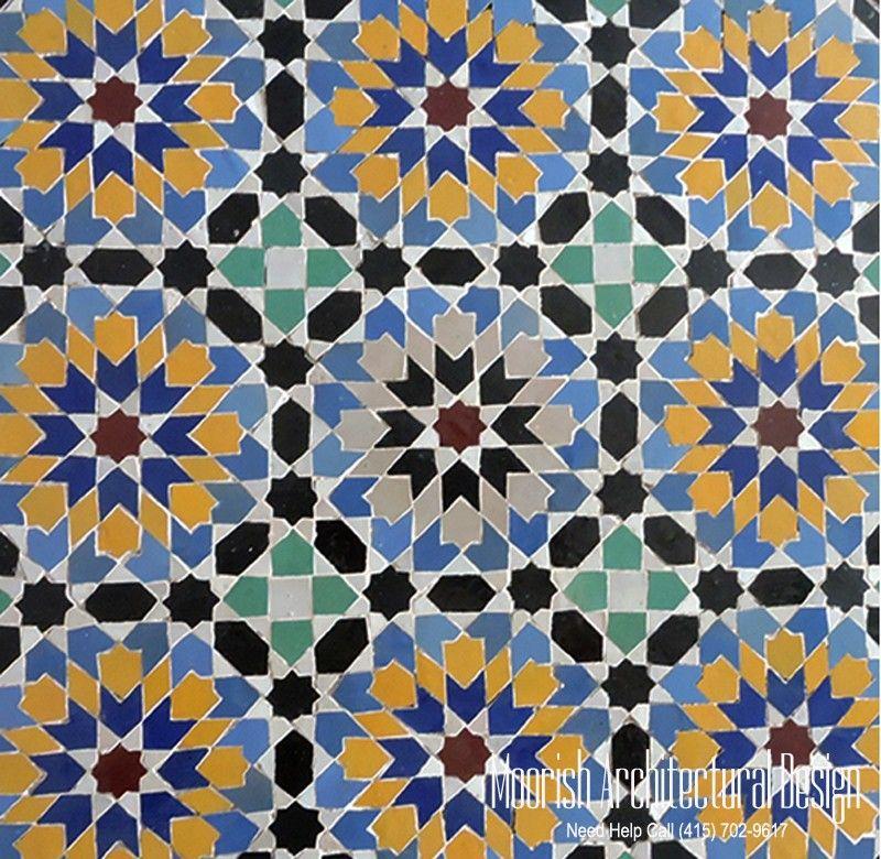 Pin Von Denise Cox Auf Moroccan Tiles Pinterest - Fliesen maurisch