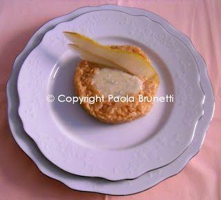 Risotto alle pere e gorgonzola