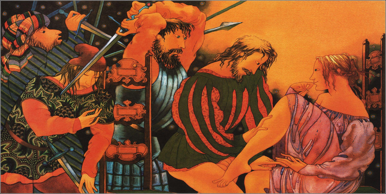 The Decameron Illustrator Lyudmyla Korzh Radko Book Graphics
