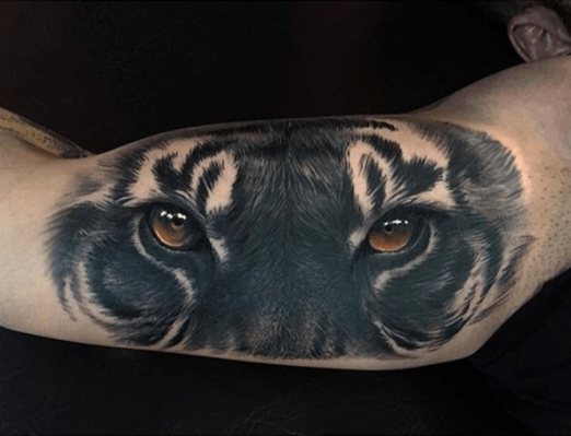 Now That Is The Eye Of The Tiger Tattoo By Jumilla Olivares Inked