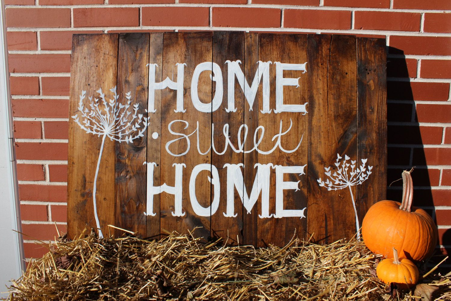 Home Sweet Home wood pallet sign | Wood pallet signs ...