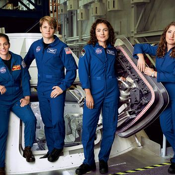 90ee115a94d6 Would You Go to Mars  Meet the Four Women Astronauts Who Can t Wait to Go  1 7 15 on Preparing for the First Trip to Mars  Glamour.com