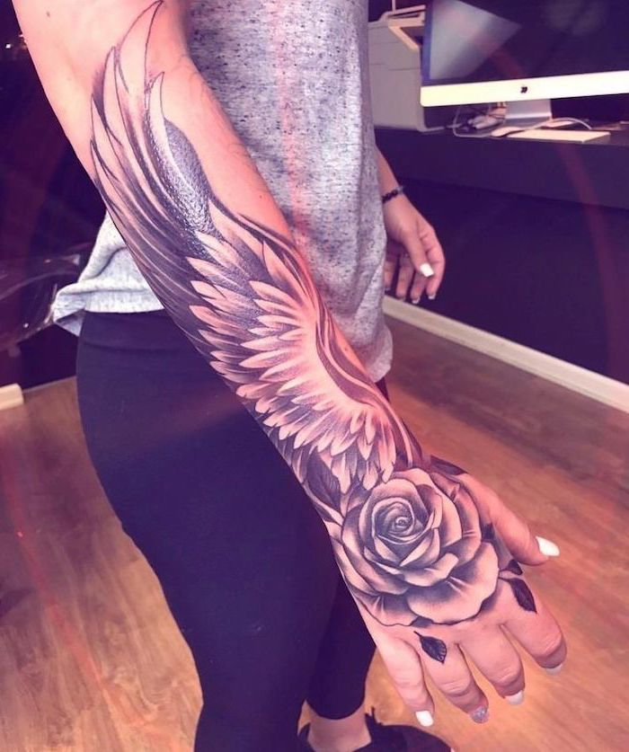 Photo of ▷ 1001 + ideas for a beautiful and meaningful angel wings tattoo