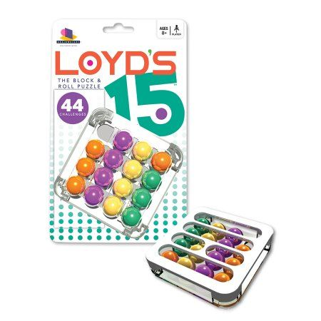 Loyd's 15 w/display, Multicolor   Products   Puzzle, Brain