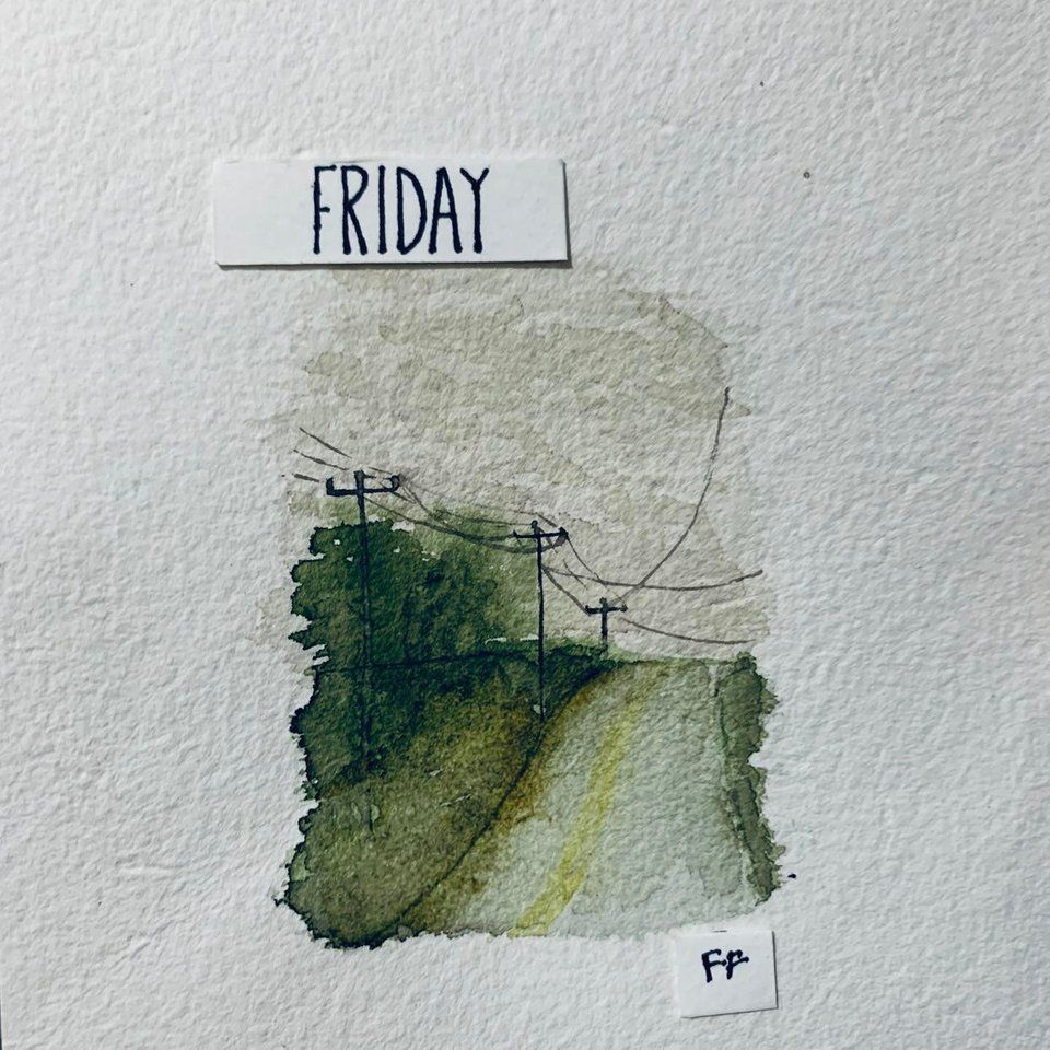 A Gloomy Kinda Day By U Frizzyfelsa A Beautiful Watercolor Mini
