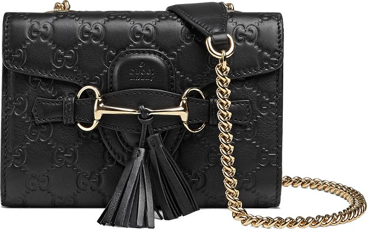 22a83692af68 Gucci Emily Guccissima Chain Shoulder Bag | bags| | Gucci shoulder ...