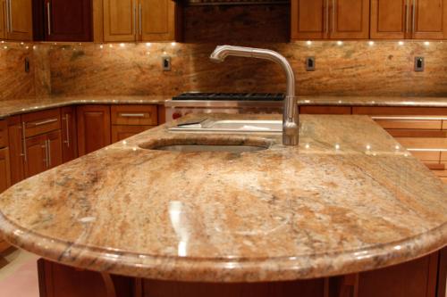 Imperial Gold Granite Kitchen Remodel Granite Building