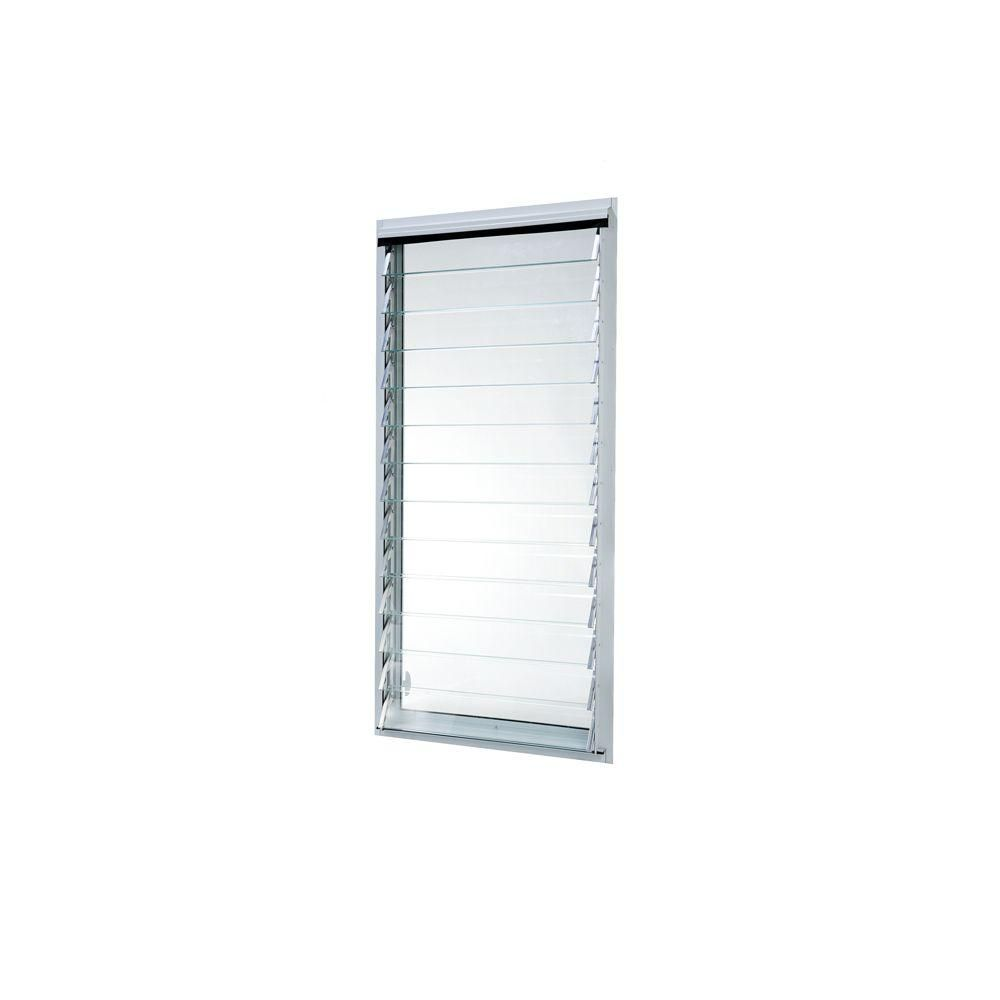 Jalousien 24 Tafco Windows 23 In X 47 875 In Jalousie Utility Louver Awning