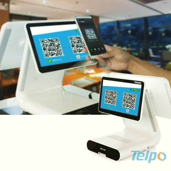 Real Time Payment Cash Register For Retail Store Restaurant Mobile Phone Qr Code Scanning On The Tps650 Customer Screen Cash Register Retail Store Android Apps