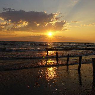 Coucher de soleil sur Sauble Beach