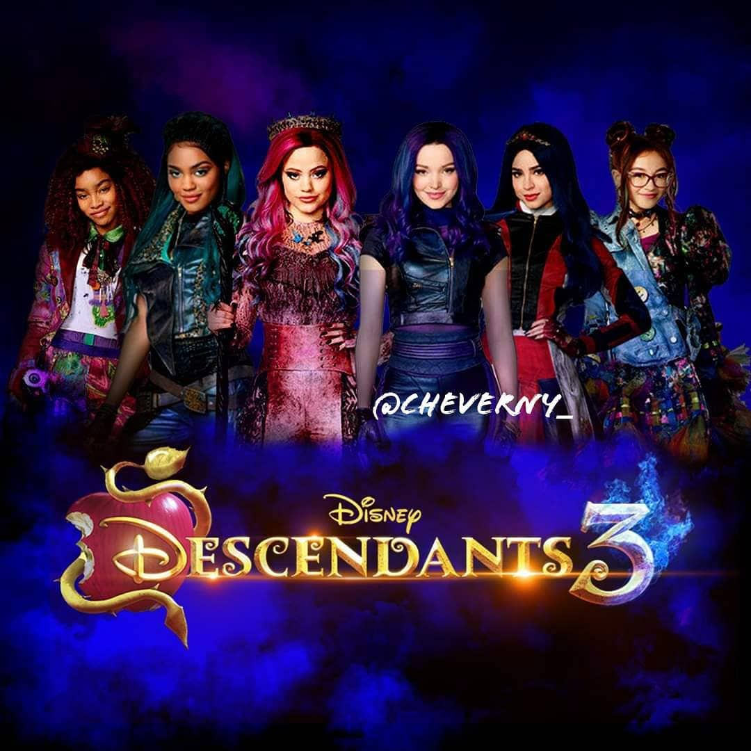Descendants 3 girls #descendants3