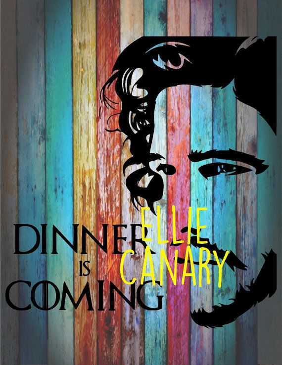Jon snow dinner is coming decal game of thrones got rainbow background not included car tumbler yeti wall instant pot decal