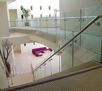 Commerical Glass Railings Glass Railings Glass Texas Commercial Res