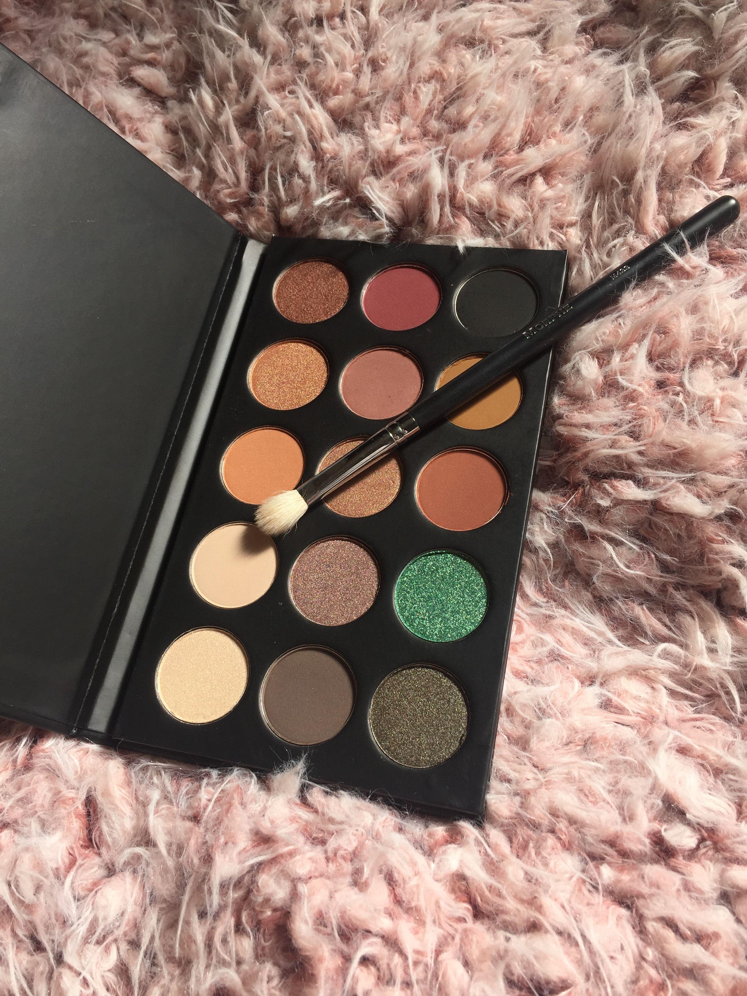 Kathleenlightsxmorphe eyeshadow palette!!! makeup