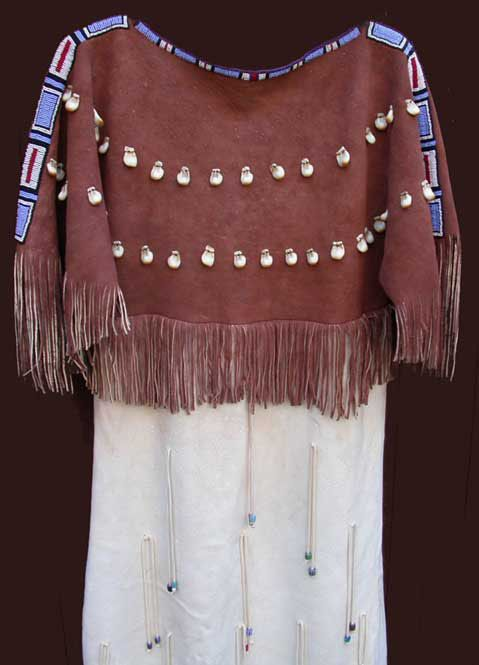 5ee60248a06 Native American Dresses (Native Women's Plains Indian Beaded Dresses ...