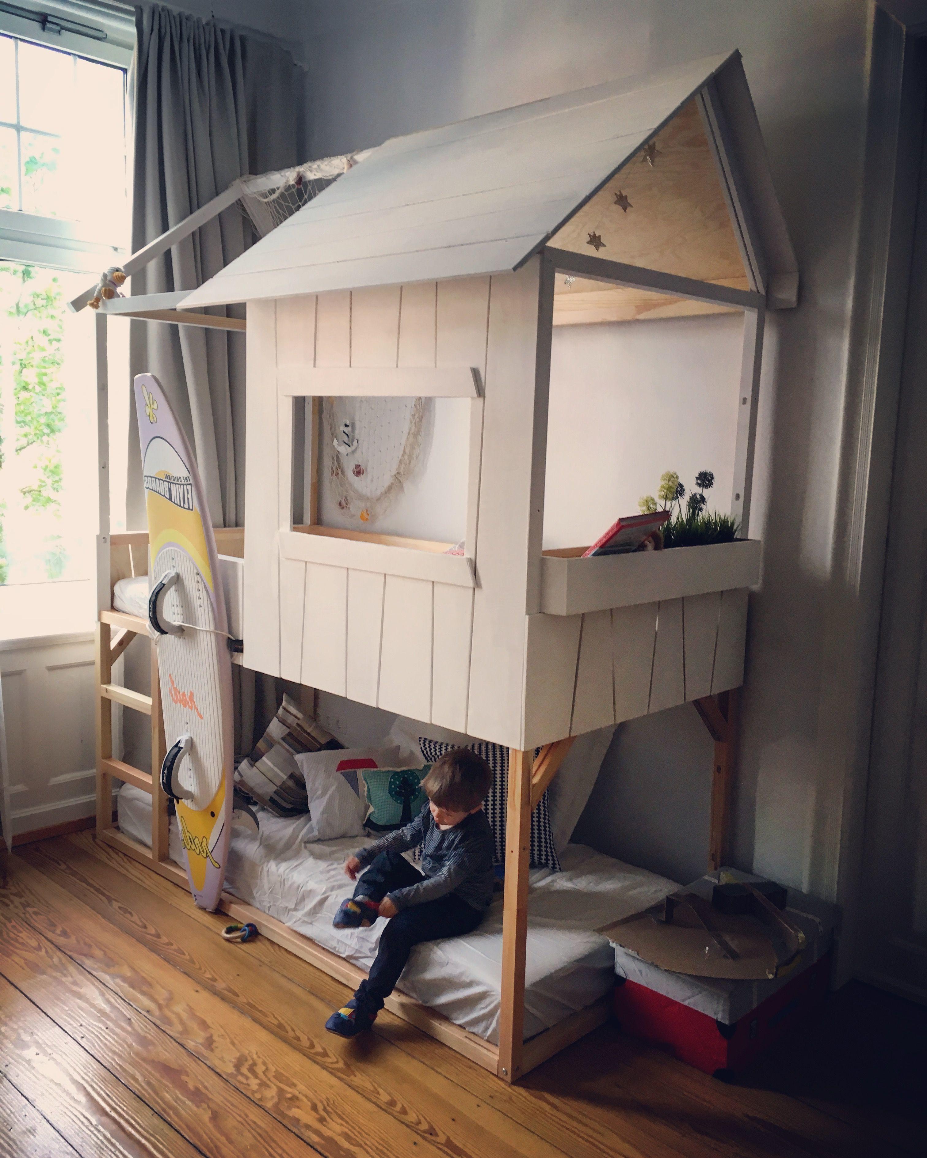 kinderzimmer pimpen 10 diy hacks f r ihr ikea kura bett basteln pinterest room ikea. Black Bedroom Furniture Sets. Home Design Ideas