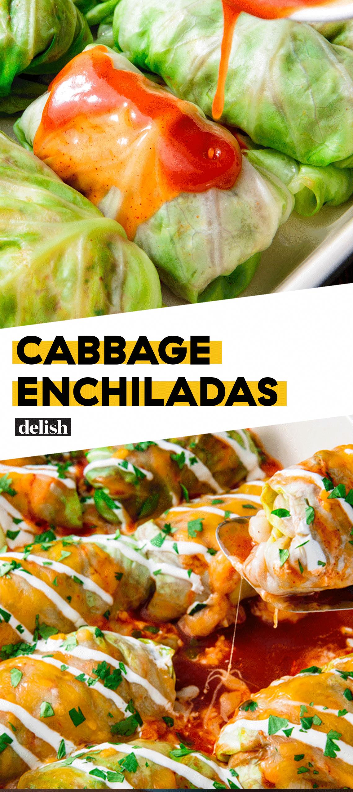 Low-Carb Cabbage Enchiladas | Recipe | Healthy recipes, No ...