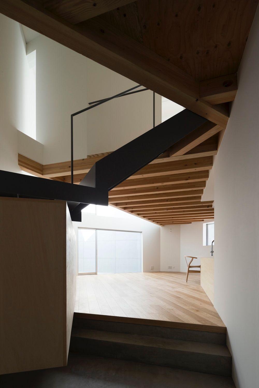 Wohnen In Tokio wohnen im delta eckbebauung in tokio treppe