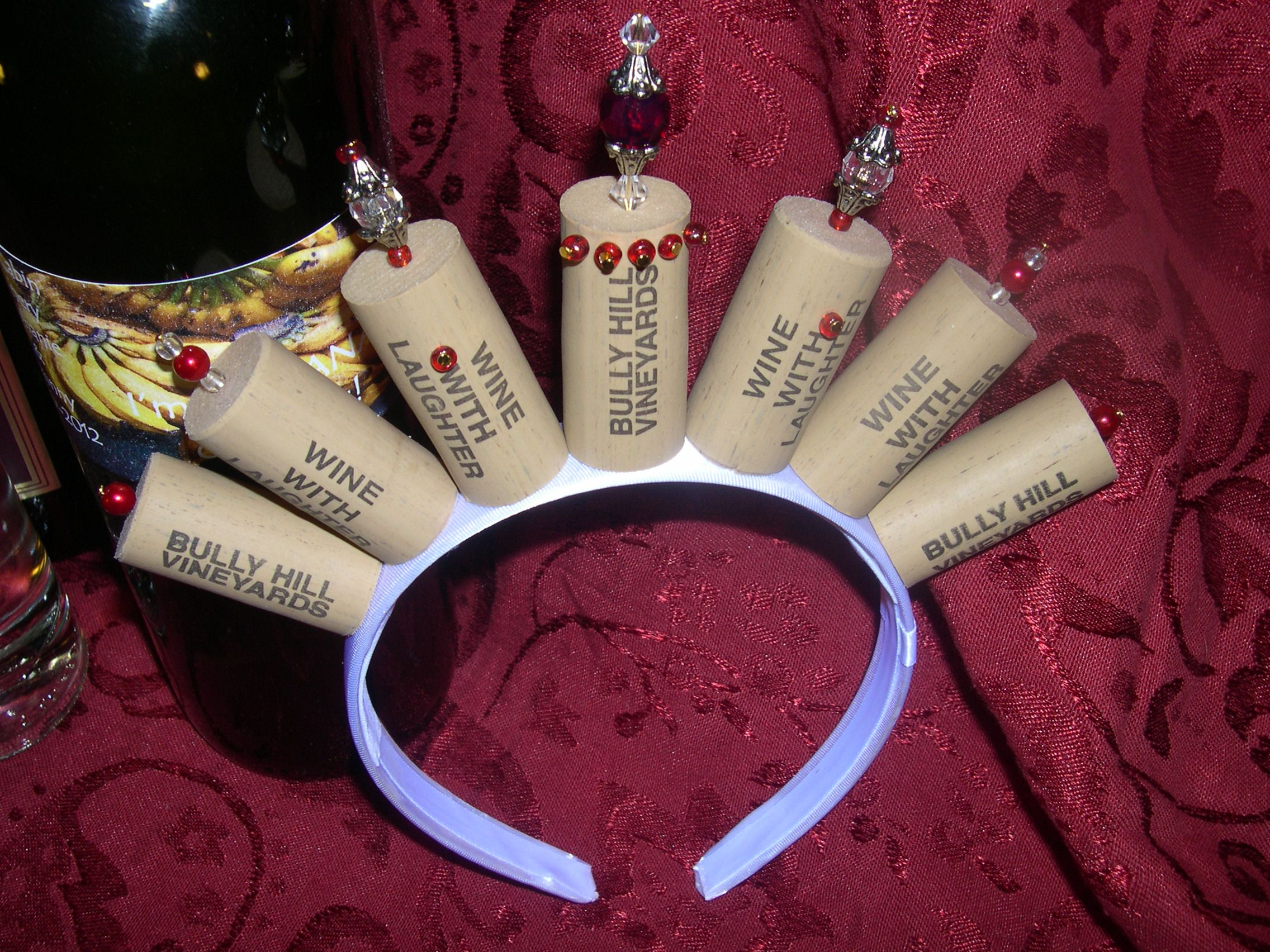 Wine Princess Cork Crown Wine Cork Crafts Wine Bottle Corks Wine Cork Projects
