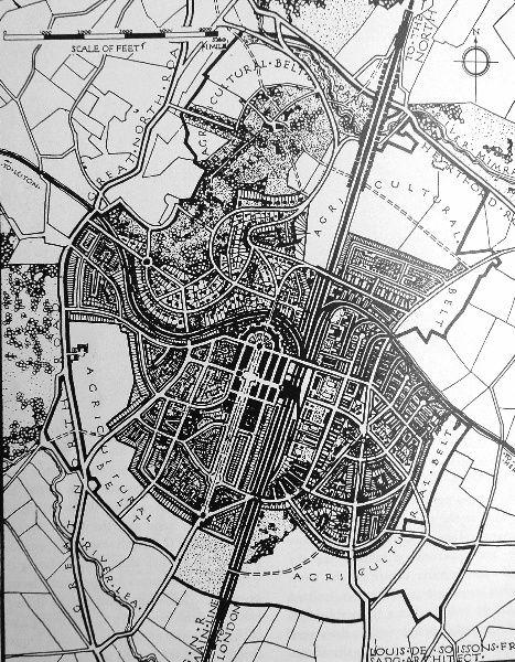 Welwyn Garden City 1920 Garden City Movement Garden City City