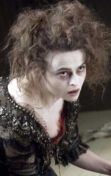 Extreme Curly Hairstyles With Hair Color For Women From Helena Helena Bonham Carter Mrs Lovett Hair Styles