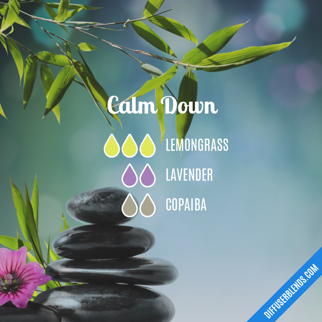 Calm Down — Essential Oil Diffuser Blend | Best smelling